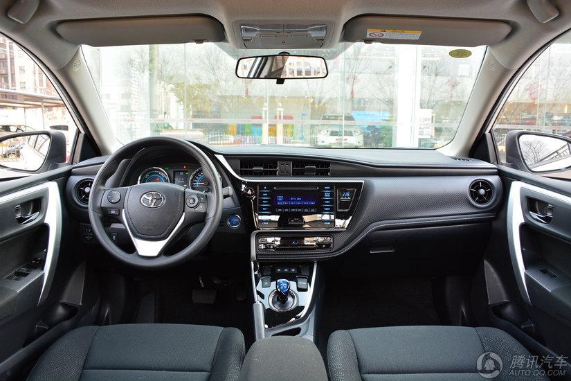 雷凌双擎 2017款 改款 1.8H GS CVT精英天窗版