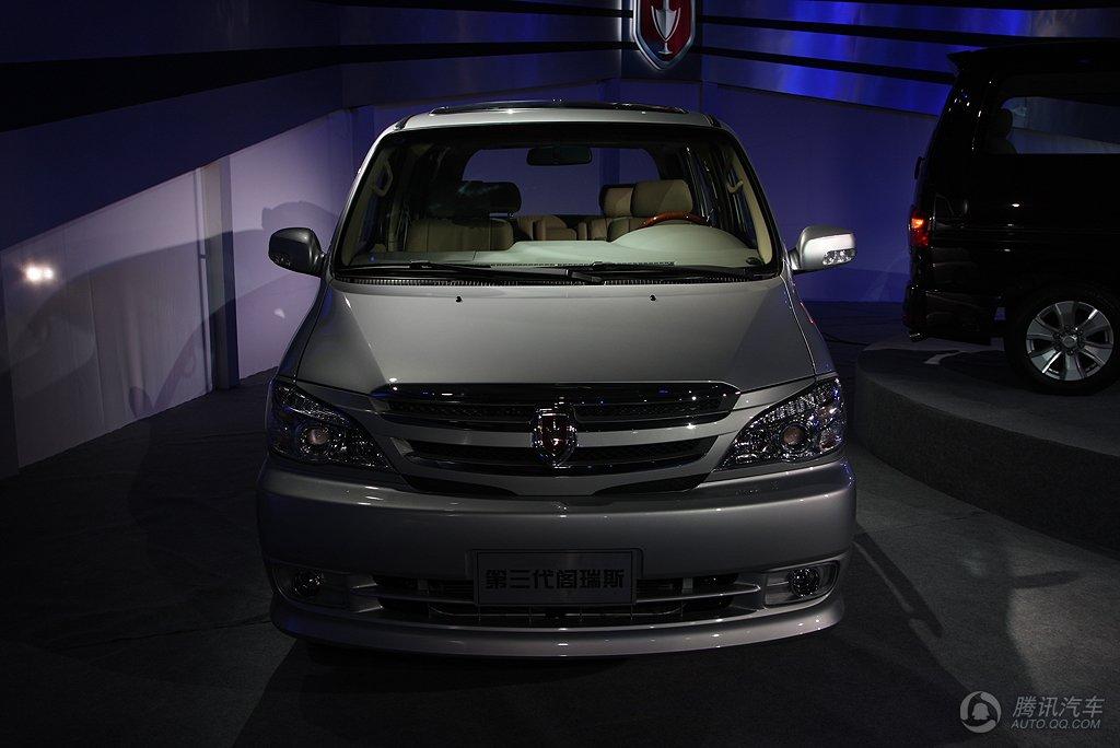阁瑞斯 2010款 御领 2.7豪华型9座 长轴 华晨金杯 腾讯汽车高清图片