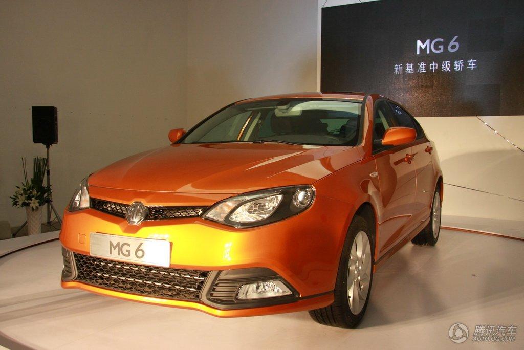 2010款 MG6 1.8T手自一体豪华版 上市实拍