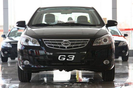 2010款比亚迪G3 1.5MT尊雅型GS-i 到店实拍