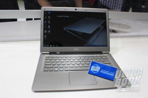 宏碁Ultrabook S3真机图赏 接口欠佳