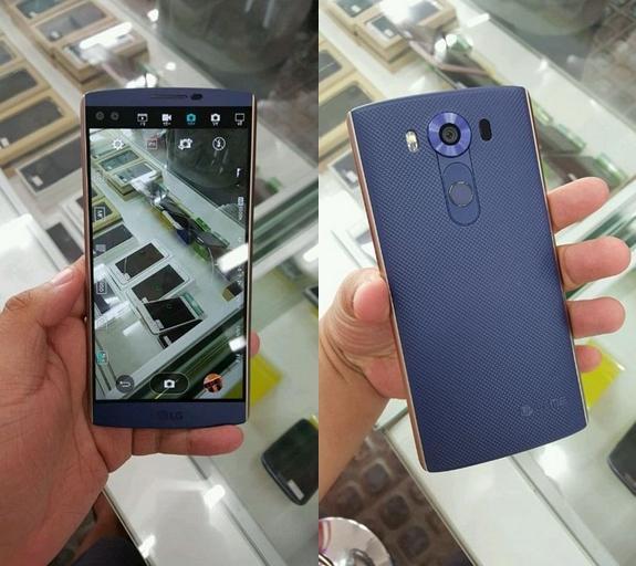 彩色副屏LG V10真机上手 售价约4398元
