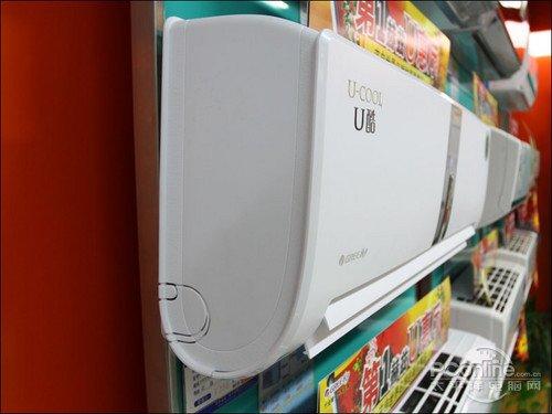 格力U酷系列空调机身侧面曲线-高质量清凉体验 1.5P变频空调精品推荐