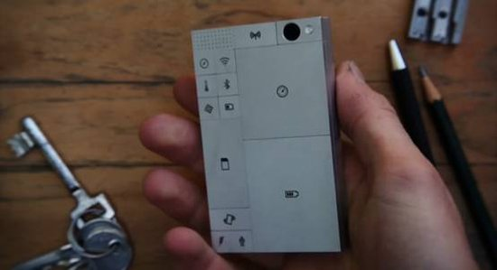 摩托罗拉模块化智能手机