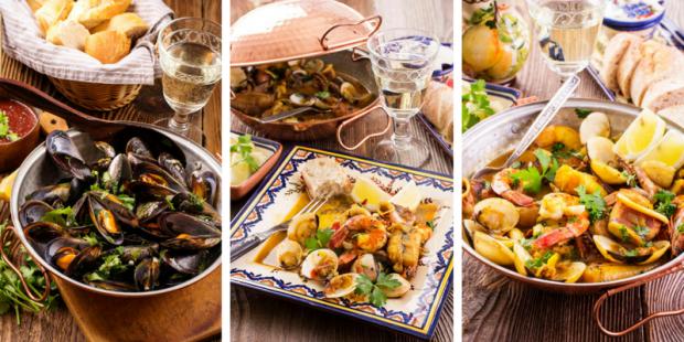 不一样的葡萄牙传统蒸锅做出海鲜更美味