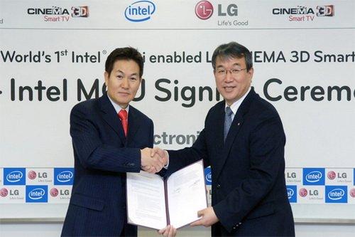 LG英特尔将于CES发布Medfield智能手机
