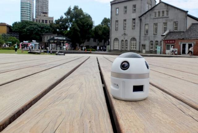 这可能是长的最萌的360度全景摄像机了吧?