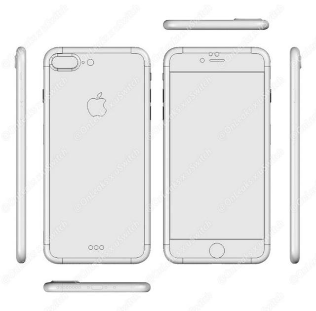 iPhone 7 Plus模具谍照曝光 或增无线充电功能