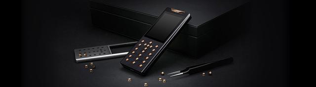 限量450台的钻石手机售价3万美元 支持双卡双待