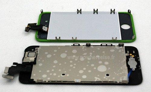 细长4英寸屏幕 iPhone5面板对比iPhone4S