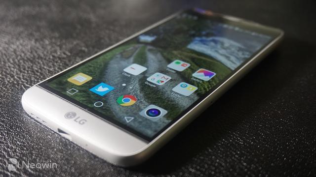 LG G5新旗舰上手体验 模块化设计最具创意