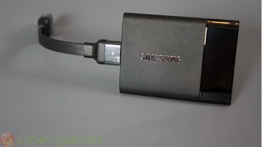 三星T1 SSD移动硬盘上手 重新定义移动存储