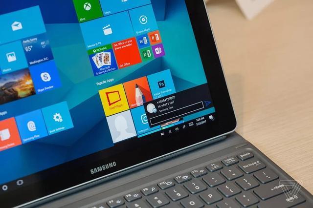 Surface Pro直接竞品 三星Galaxy Book混合平板开售