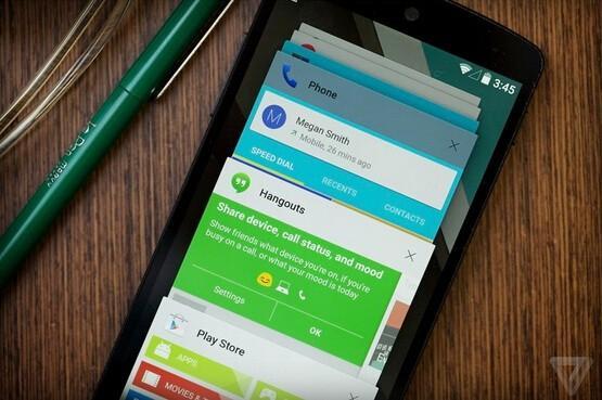 谷歌正式推出Android 5.0 Lollipop