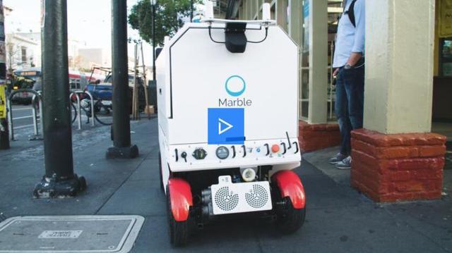 别小看机器人送外卖 难度不比自动驾驶汽车小