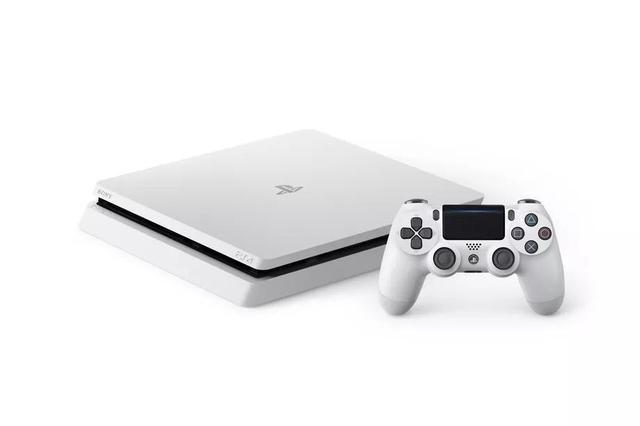 索尼发布冰川白PS4 Slim 先在欧洲和日本卖