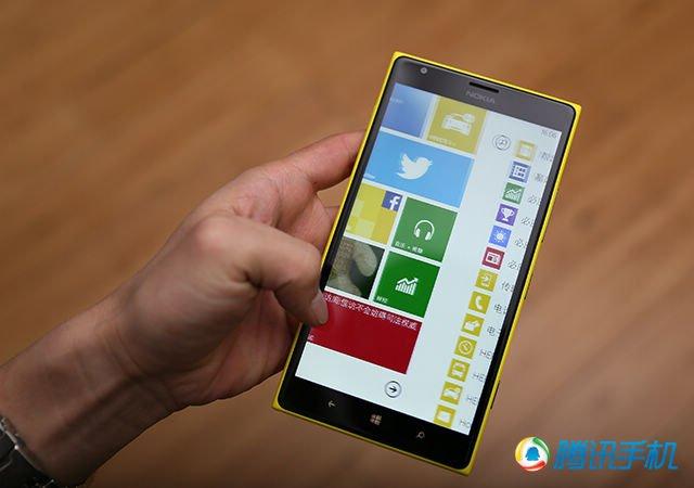 Lumia 1520评测:诺言基亚Phablet市场第壹弹