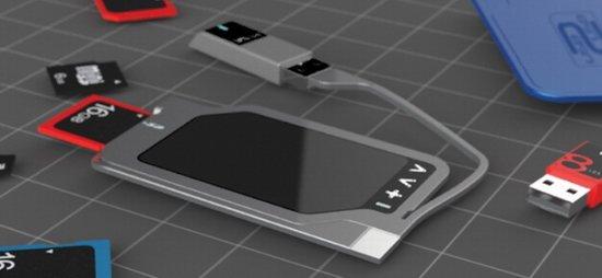 USB2USB數據轉存器推出配備OLED觸摸屏