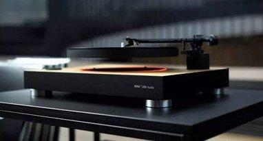 你见过漂浮在空中的唱片吗?