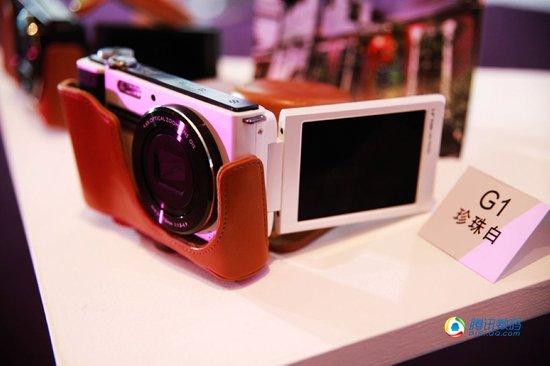 明基发布全球最轻薄旋转屏大光圈相机