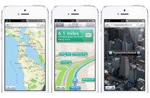 苹果iPhone5的地图应用
