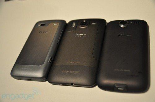 HTC新旗舰 Desire HD与Desire Z真机赏
