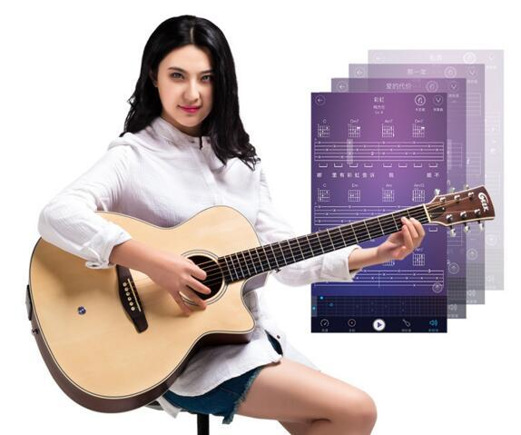 【寒武计划】极客智能吉他发布 让学习更快