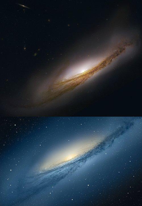 苹果改变宇宙 10.8星云壁纸中星星被删