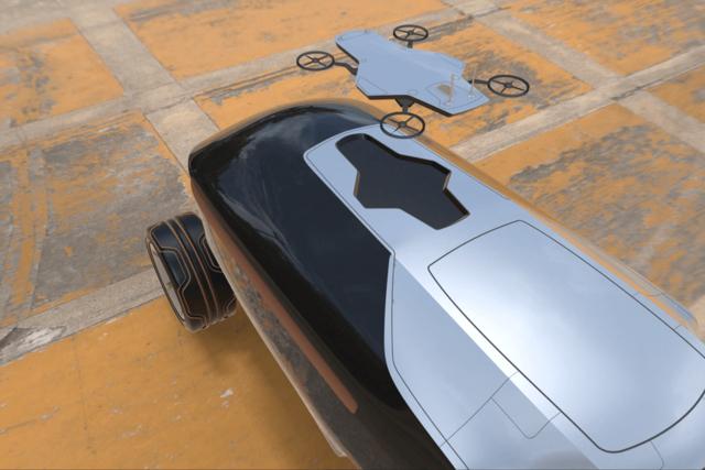 无人机--未来汽车长什么样?无人驾驶看路就靠无人机