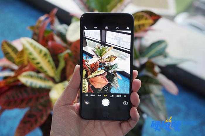 iPhone 7 Plus拍摄界面