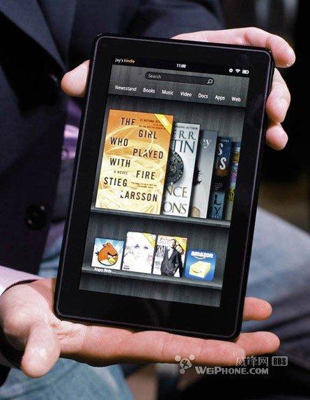 10寸新Kindle Fire将发 配Tegra 3四核