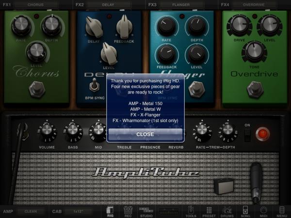 让吉它<a href='http://www.foioo.com' target='_blank'>配件</a>AmpliTube iRig成为你乐队的好帮手