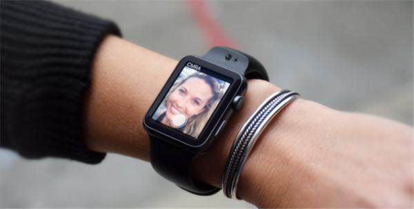 CMRA表带可以让苹果手表拍照/录像/视频通话