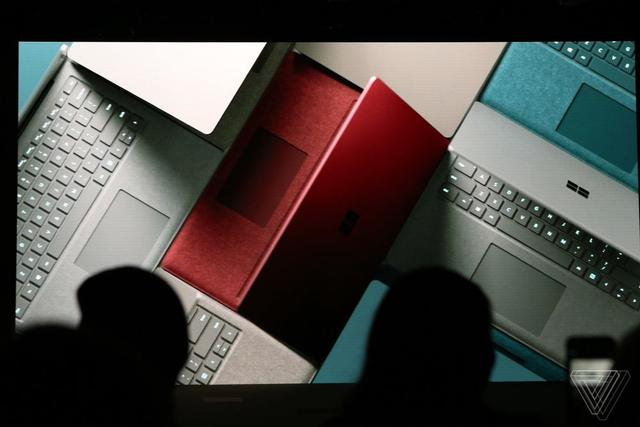 微软发布Surface Laptop笔记本 这一次回归传统设计