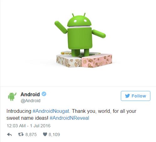 Android N官方命名出炉 只看图知道叫什么吗