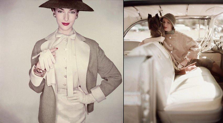 高清:法国巴黎的复古美女人像