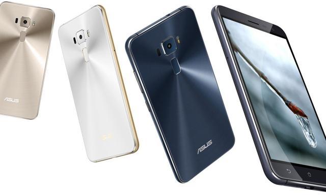 传华硕MWC发布ZenFone 4 配备2K屏幕+6GB内存