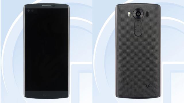 LG新旗舰V10亮相 配独立副显示屏10月开卖