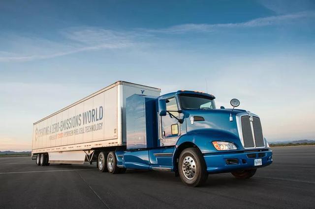 丰田计划打造氢燃料重型卡车 载重足有36吨