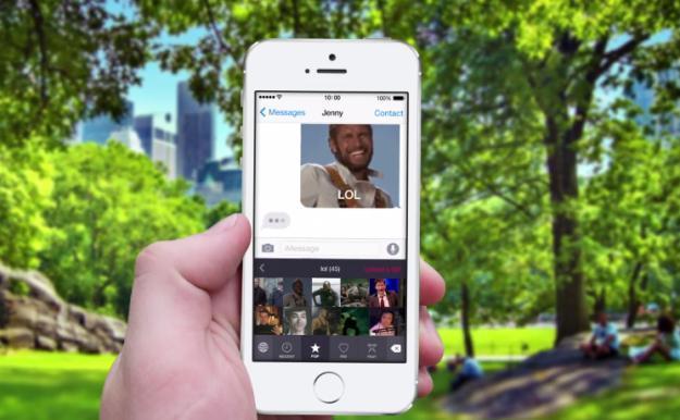 第三方iOS 8输入法可以直接输入GIF动态图了