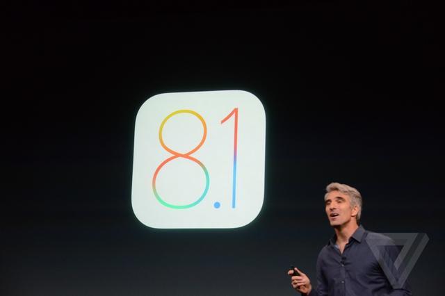 苹果发布iOS 8.1 Apple Pay/iCloud相册升级