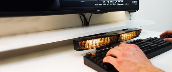 冰冰的键盘冷冷的手?有了它让码农也暖起来