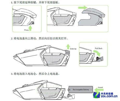 鼠标组装方法步骤图片