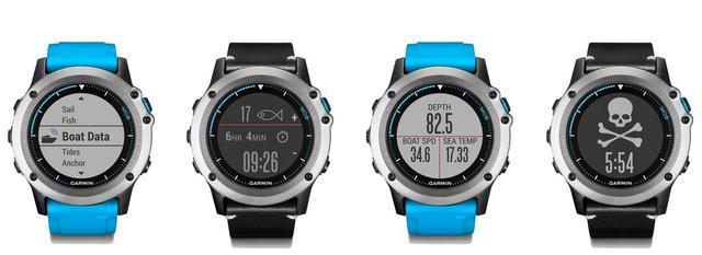 佳明推全新水上运动手表 可保存7天潮汐数据