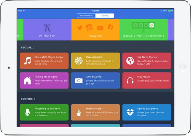 iOS 11可能会加入类似Workflow的新官方应用