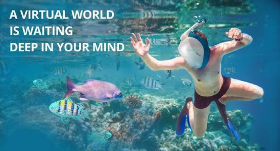 水下虚拟现实头盔Nautilus VR带你体验深海