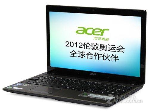 新i7四核+独显 宏碁5750G游戏本4399元