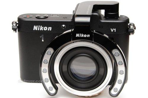 大开眼界 尼康1千奇百趣的配件和镜头