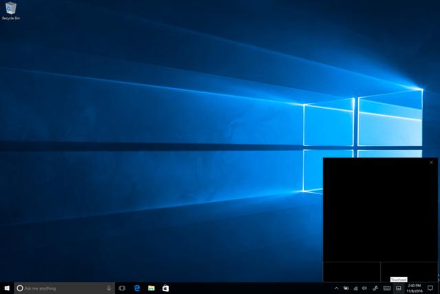 Windows 10平板外接显示器,用虚拟触控板超方便