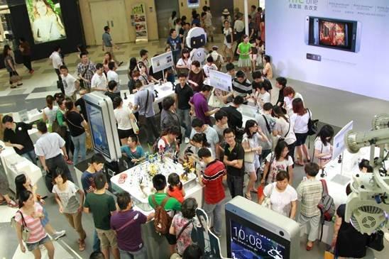 上海、沈阳双城联动 HTC路演夏日狂欢